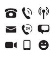 icon communication vector image
