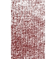Knitted woolen texture dark red vector image