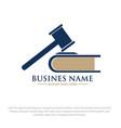 law logo designs vector image vector image