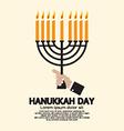 Hanukkah Day Celebration vector image