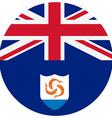 Anguilla flag vector image vector image