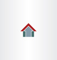 arrow home symbol design icon vector image vector image