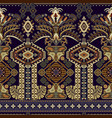 colorful seamless ornamental pattern ethnic style vector image