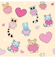 Lovely background vector image