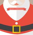 Santa Claus Coat Merry Christmas vector image vector image