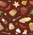 seasoning food herbs natural ingredient vector image