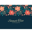 vibrant tropical hibiscus flowers vector image vector image