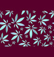 marijuana leaves seamless pattern cannabis vector image vector image