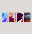 minimal modern cover collection design dynamic vector image