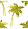 palm tree seamless vector image vector image