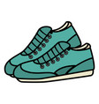 sport shoes isolated icon vector image vector image