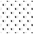Toast bread pattern simple style vector image vector image