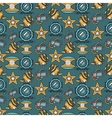 Scuba diving colored background vector image