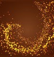 abstract magical shimmering glow background vector image vector image