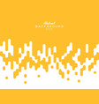 abstract yellow mustard rounded lines halftone vector image