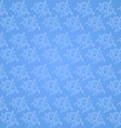 Beautiful vine pattern on a blue background vector image vector image