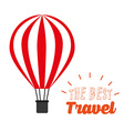 best travel design vector image
