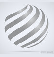 business technology abstract sign spiral in the vector image
