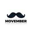 movember men health man prostate cancer november vector image vector image