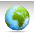 polygonWorld vector image vector image