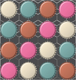 retro button background vector image vector image