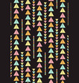 seamless geometric pattern vintage vector image