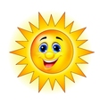 Cute Sun Cartoon vector image