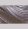 abstract background silver flow liquid vector image