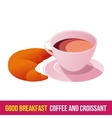 Breakfast icon gradient vector image vector image