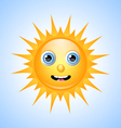 Cute Sun Character vector image vector image
