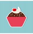 delicious pastry shop design vector image vector image
