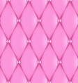 luxury pink leather vector image vector image