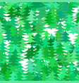 seamless abstract chaotic pine tree background vector image vector image