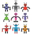 set robots vector image