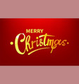 stock merry christmas shiny vector image vector image
