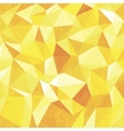 Yellow Mosaic Background vector image vector image