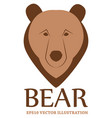 bear logo - eps10 vector image
