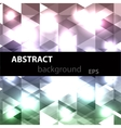 Abstract disco glowing of background vector image vector image