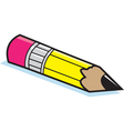 Cartoon Short Pencil vector image