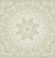 elegant mandala background vector image vector image