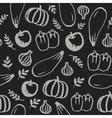 hand drawn doodle food seamless pattern vector image vector image