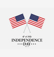 july fourth usa independence day 4th of july vector image vector image