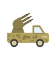 Missile Truck vector image vector image