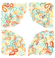 Moroccan tile ornaments in different colors vector image