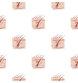 Skin icon in cartoon style isolated on white vector image