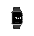 smart watch isolated on white background vector image vector image