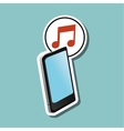 Social media design Media icon Technology vector image