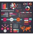 Huge set of infographic design elements vector image