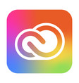 adobe creative cloud icon app for photography vector image