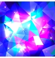 Blue Polygonal Mosaic Background vector image vector image